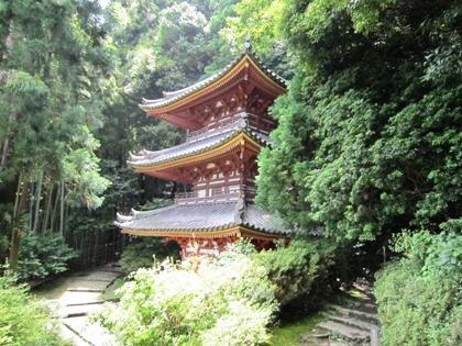 松尾寺三重塔