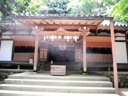 松尾山神社拝殿