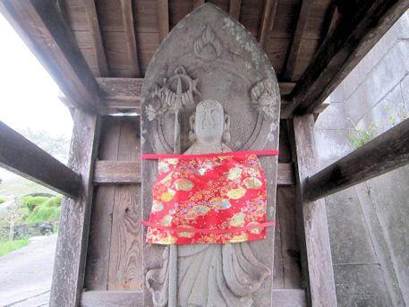 明日香村越の地蔵石仏