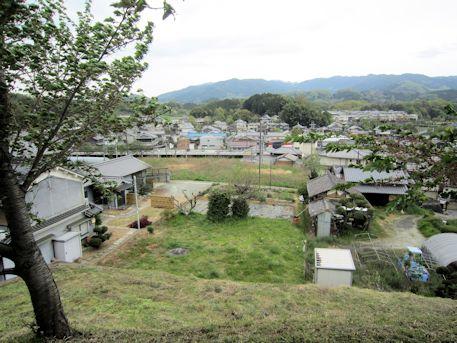 岩屋山古墳からの眺望