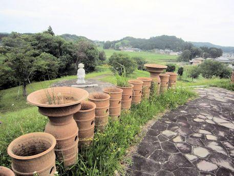 三陵墓西古墳の円筒埴輪・朝顔形埴輪