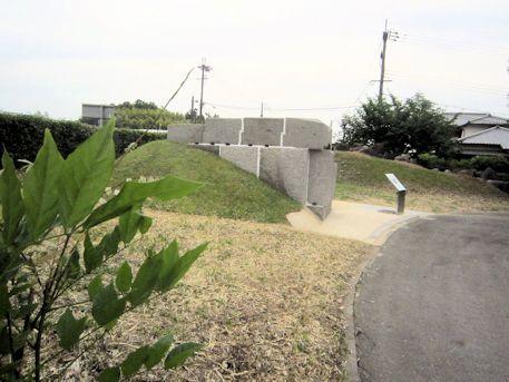 高松塚古墳の解体実験用石室