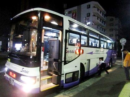 桜井駅北口のリムジンバス