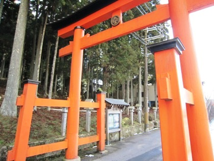墨坂神社の両部鳥居