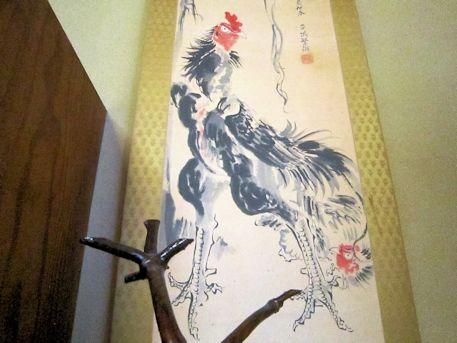 平城繁雄の軍鶏図