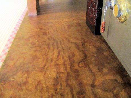 床の間の前板