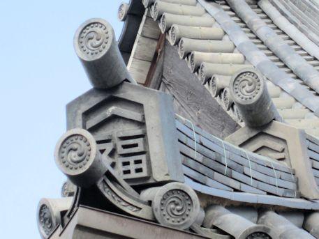 善福寺の瓦