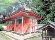 博西神社本殿