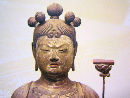 法徳寺の五髻文殊
