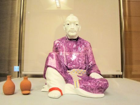大伴旅人の陶磁器人形