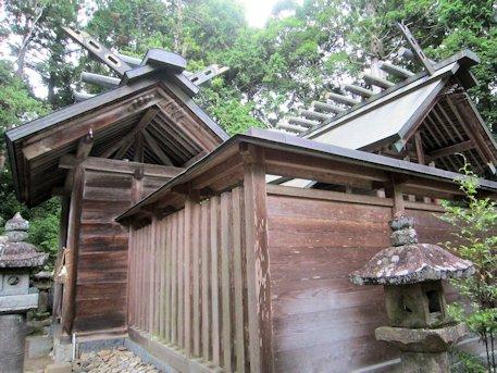阿紀神社本殿