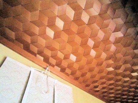 床天井の麻の葉繋ぎ
