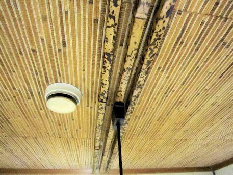 天井の図面角竹