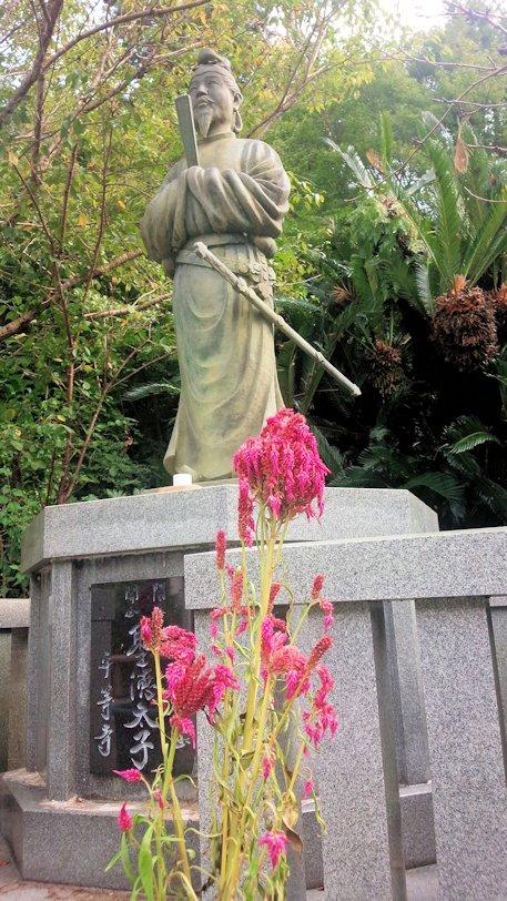 平等寺の聖徳太子像