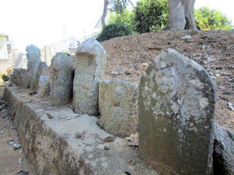 石川精舎跡の石仏