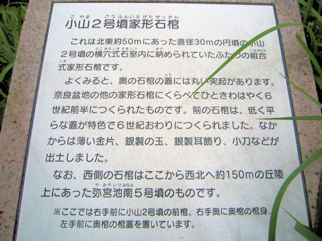 小山2号墳家形石棺の解説