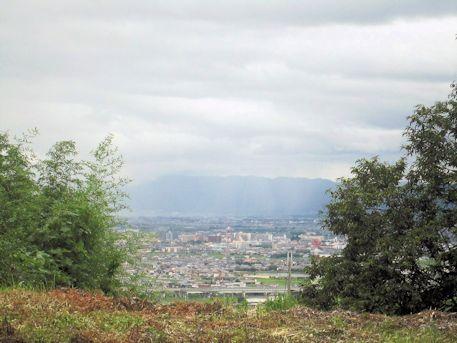 奈良盆地風景