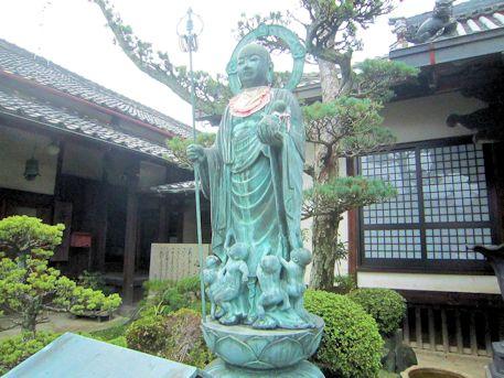 浄願寺地蔵菩薩立像