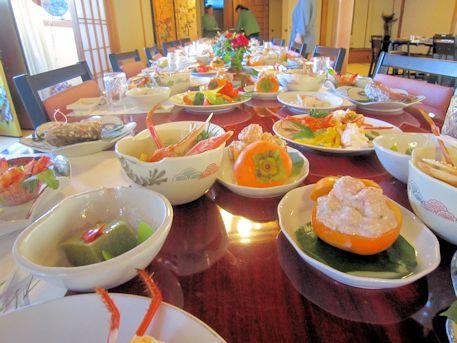 秋の婚礼料理
