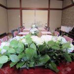 大神神社結婚式の会食会場