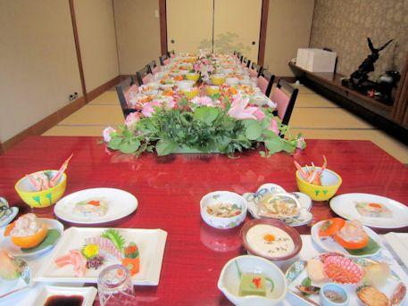 結婚式会食会場
