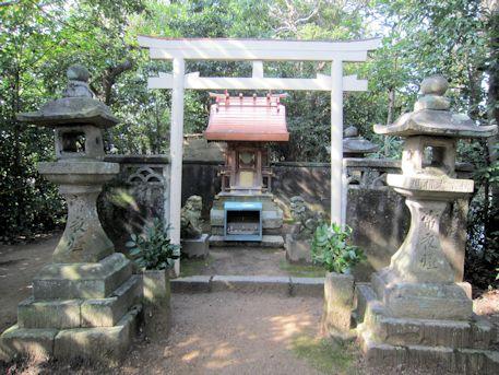 斑鳩町の秋葉神社