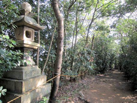 秋葉神社参道