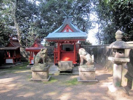 幸前神社本殿