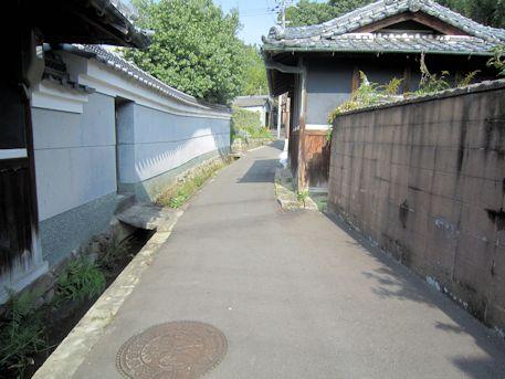 赤染井のアクセス道