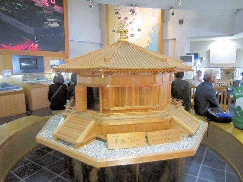 法隆寺夢殿立体模型