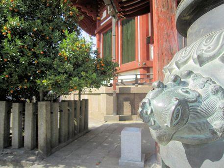 興福寺南円堂の香炉台
