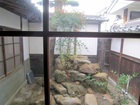 正木家住宅の坪庭