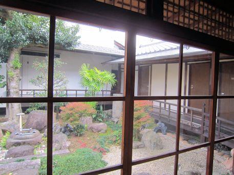 正木家住宅の中庭