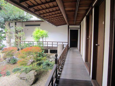 正木家住宅の廊下